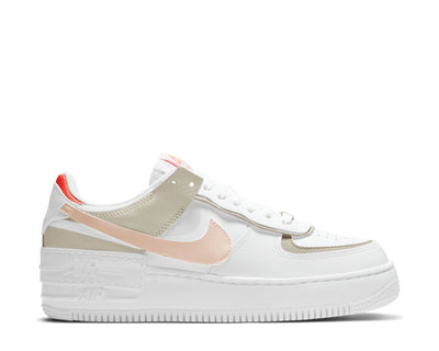 Nike Air Force 1 Shadow W White / Crimson Tint - Bright Mango DH3896-100