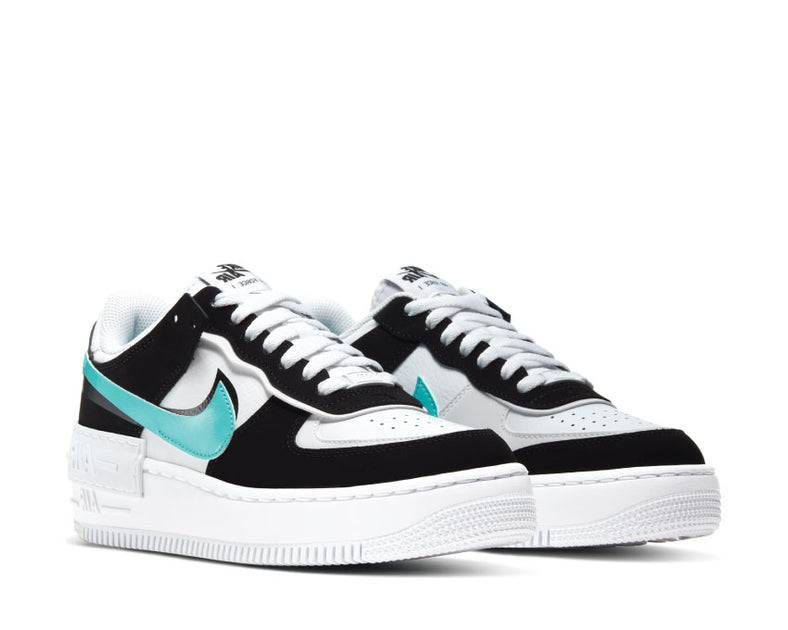 Buy Nike Air Force 1 Shadow Aurora Green Cz7929 100 Noirfonce Nike's air force 1 shadow gets a touch of peach and pastel pink accents: noirfonce