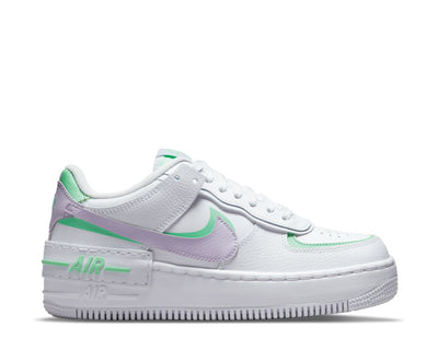 Nike Air Force 1 Shadow White / Infinite Lilac - Football Grey CU8591-103