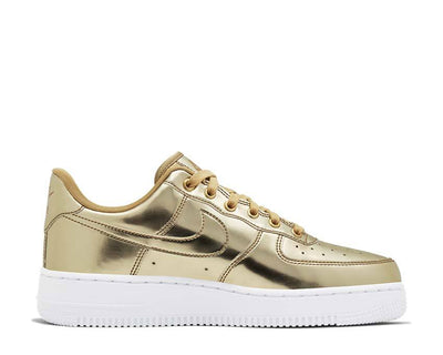 Nike W Air Force 1 SP Metallic Gold / Club Gold - White CQ6566-700