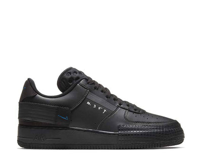 Nike Air Force 1 Type Black / Photo Blue - Platinum Tint AT7859-001