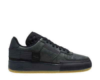 Nike Air Force 1 Type Black / Anthracite - Gum Light Brown CJ1281-001