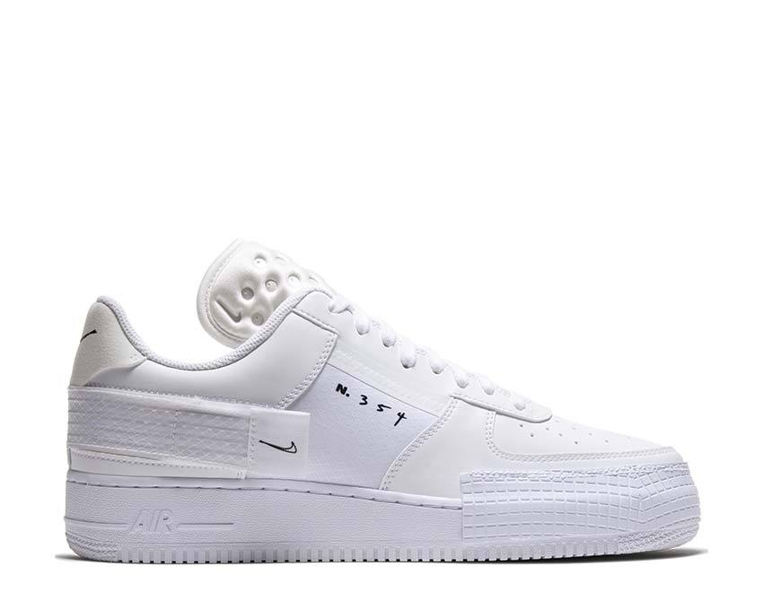 Nike Air Force 1 Type White Cq2344 101 Buy Online Noirfonce