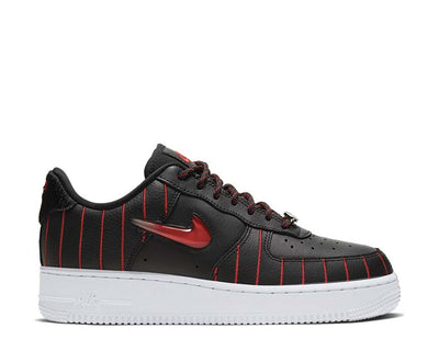 Nike Air Force 1 W Jewel QS Black / University Red - Black - White CU6359-001