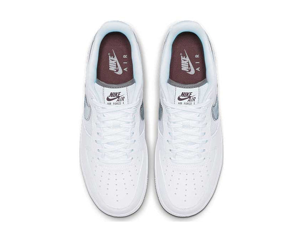 Nike Air Force 1 '07 LV8 White Cool Grey Night Maroon BV1278-100