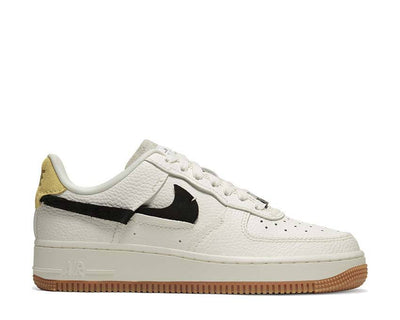 Nike Wmns Air Force 1 '07 LXX Sail / Black - Chrome Yellow - White BV0740-101