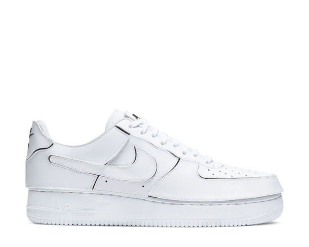 Nike AF1/1 White / White - Black - Cosmic Clay CZ5093-100