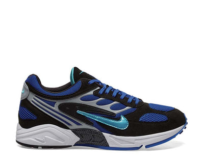 Nike Air Ghost Racer Black Hyper Jade Racer Blue Wolf Grey AT5410-001