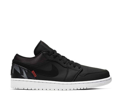 Nike Air Jordan 1 Low PSG Black Dark Grey Infrared 23 CK0687-001