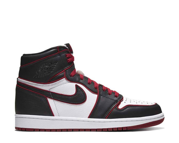 Air Jordan 1 Retro High OG Black / Gym Red - White 555088-062