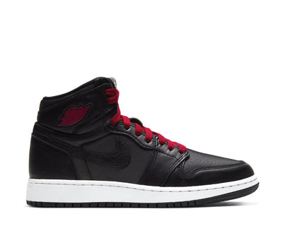 Nike Air Jordan 1 Retro High OG GS Black Satin