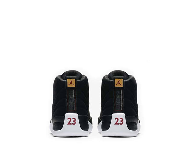 Air Jordan 12 Retro Black / Black - White - Taxi 130690-017