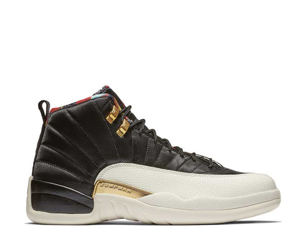 Jordan Air Jordan 12 Retro CNY Black / True Red - Sail - Metallic Gold CI2977-006