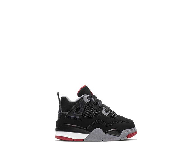 Air Jordan Jordan 4 Black / Fire Red  BQ7670-060