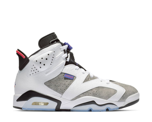 69dff1d0c896 Nike Air Jordan 6 LTR White Dark Concord Black Infrared 23 CI3125-100 ...