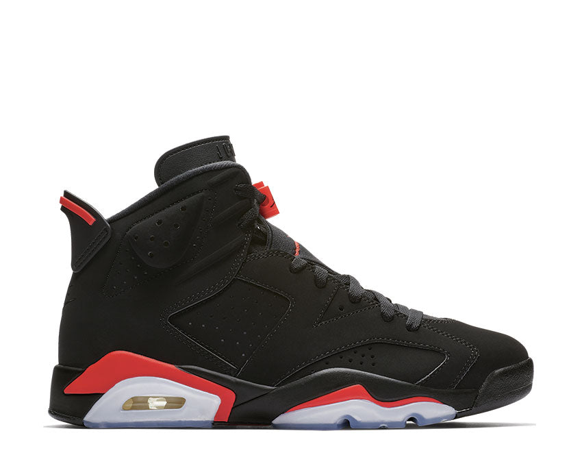 Jordan Nike Air Jordan 6 Retro Black / Infrared 384664-060