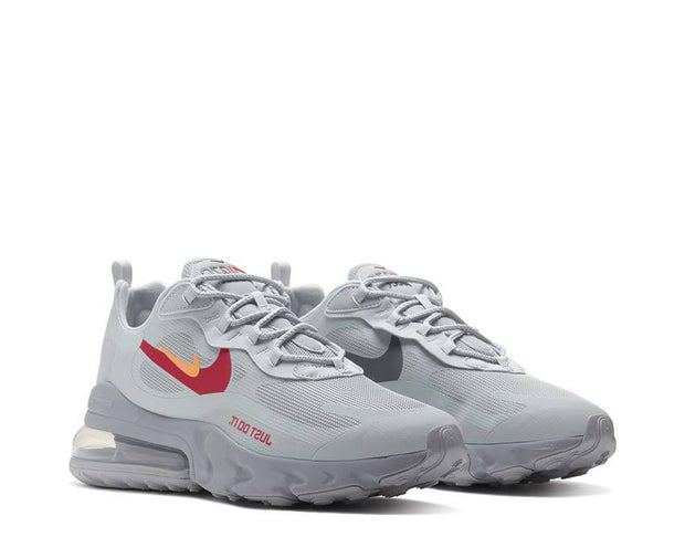 Nike Air Max 270 React Wolf Grey / Hyper Crimson - University Red CT2203-002