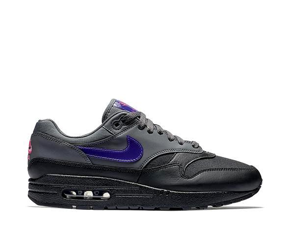 bb380714f195 Nike Air Max 1 Grey Purple AR1249-002 - NOIRFONCE