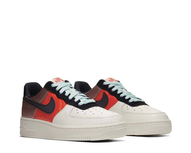Nike Air Force 1 Low Metallic Red Bronze / Black - Teal Tint CT3429-900