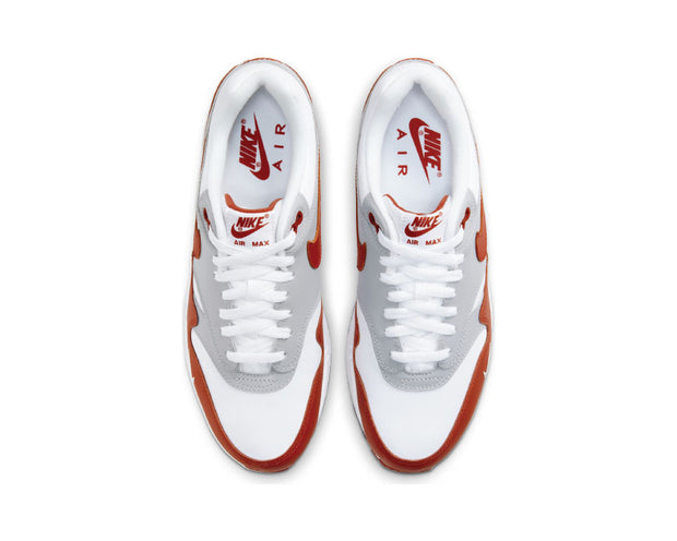 Nike Air Max 1 LV8 White / Martian Sunrise - Wolf Grey - Black DH4059-102