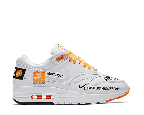 "Nike Air Max 1 White ""Just Do It"""