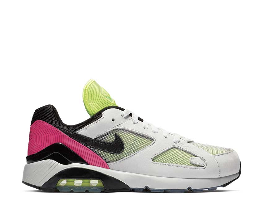 Nike Air Max 180 Pure Platinum Black Hyper Pink BV7487-001