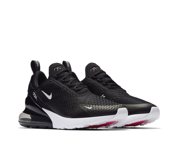 Radient Nike Air Max 270 Flyknit Black White Solar Red