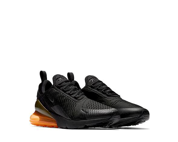 sale retailer 7039c 6c0d0 Nike Air Max 270 QS Black Orange