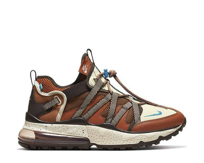 Nike Air Max 270 Bowfin Dark Russet / LT Current Blue AJ7200-202