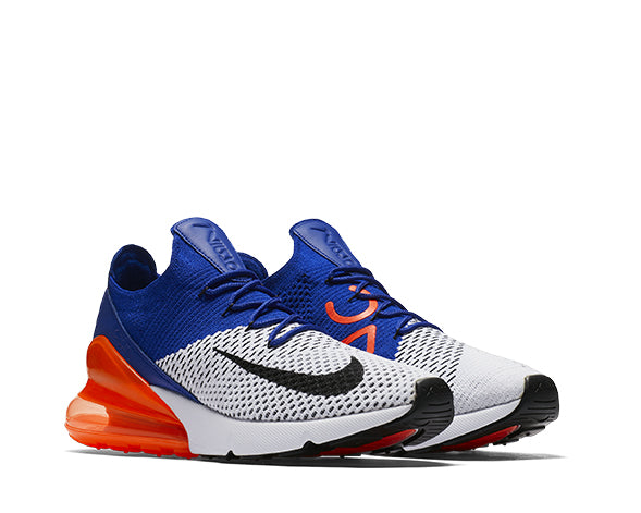 7052a2a8ee5 Nike Air Max 270 Flyknit Racer Blue Crimson AO1023-101 - NOIRFONCE