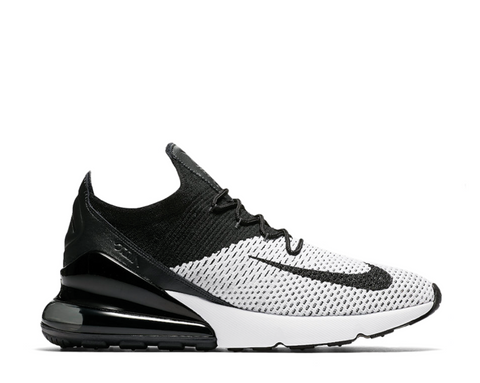 Nike Air Max 270 Flyknit White Black