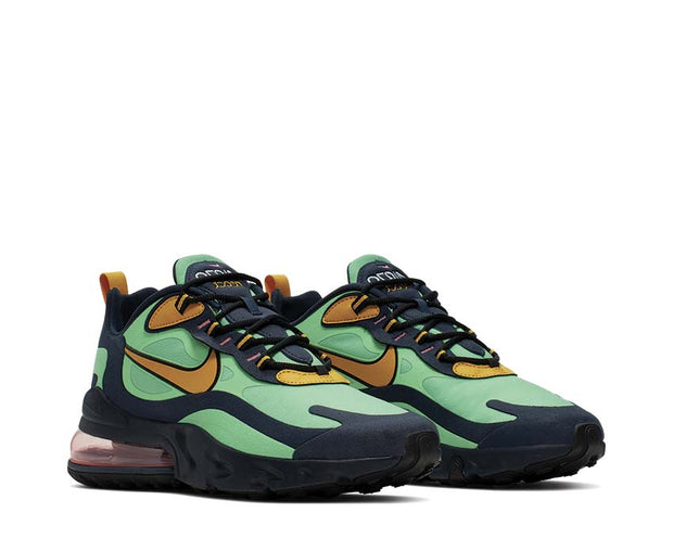 Nike Air Max 270 React Electro Green Yellow Ochre Obsidian AO4971-300