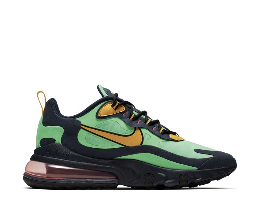 Pops Of Metallic Gold Appear On This Nike Air Max 270 React