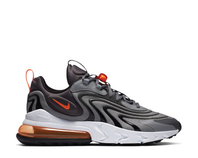 Nike Air Max 270 React Eng Iron Grey / Total Orange - Particle Grey CT1281-002