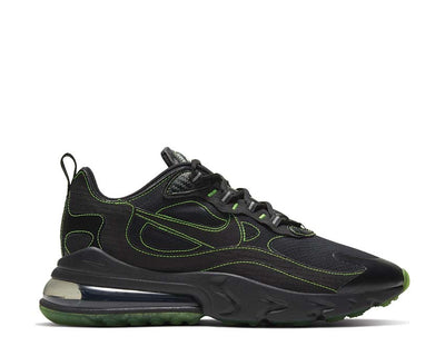 Nike Air Max 270 React SP Black / Black - Electric Green CQ6549-001