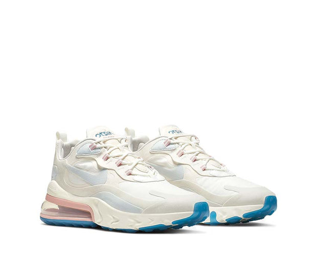 Nike Air Max 270 React Summit White Ghost Aqua Phantom AO4971-100