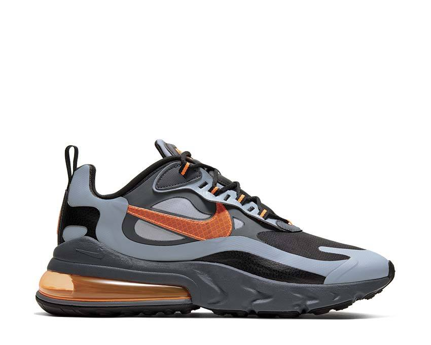 air max 270 react wolf grey total orange black