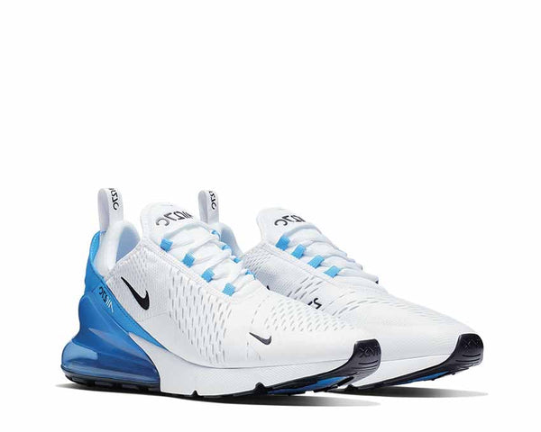 0a4233f066 ... Nike Air Max 270 White Black Photo Blue Pure Platinum AH8050-110 ...