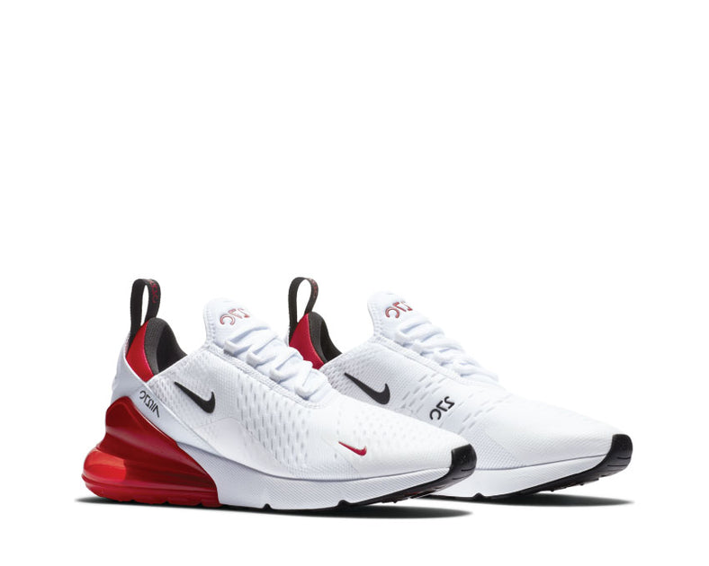 Nike Air Max 270 White Black Red Bv2523 100 Buy Online Noirfonce