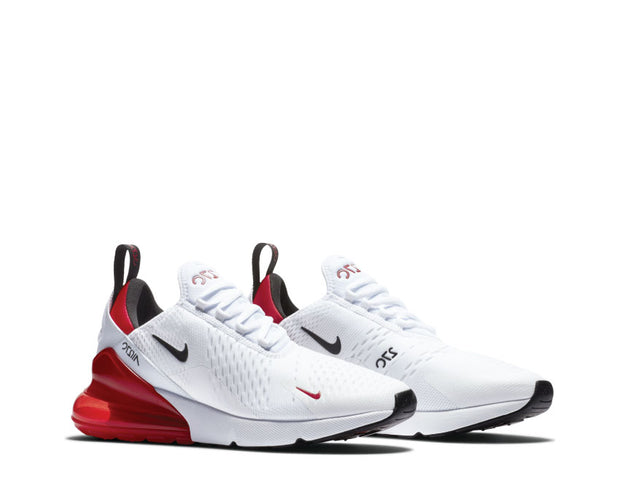 Nike Air Max 270 White Black Red BV2523 100 NOIRFONCE