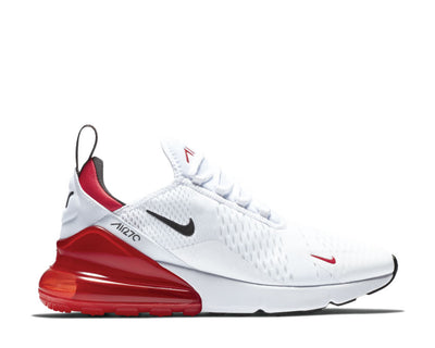 Nike Air Max 270 White University Red Black BV2523 100