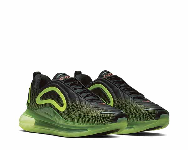 Nike Air Max 720 Black Bright Crimson Volt AO2924-008