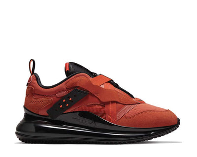 Nike Air Max 720 Slip OBJ Team Orange / Black - Team Orange DA4155-800