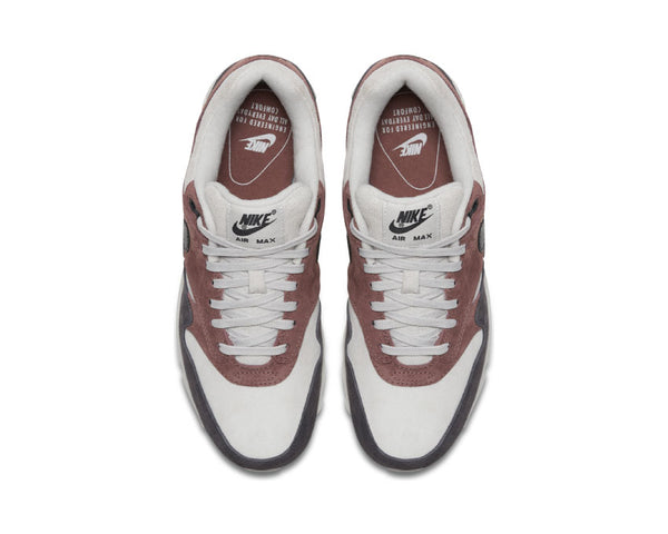 sale retailer ce4fe ef7d9 ... Nike Air Max 90 1 Red Sepia Oil Grey Vast Grey AQ1273 200 ...