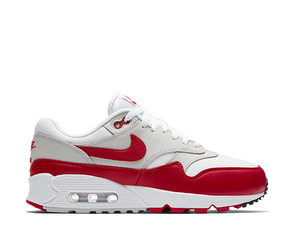 detailed look 4014a 68339 Nike Air Max 90 1 White Red