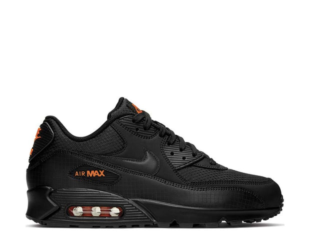 Nike Air Max 90 Black / Total Orange CT2533-001