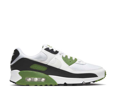 Nike Air Max 90 White / White - Chlorophyll - Black CT4352-102