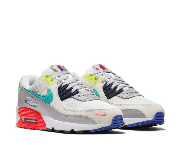 Nike Air Max 90 Pearl Grey / Sport Turquoise - Summit White - Black DA5562-001
