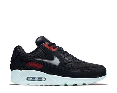 Nike Air Max 90 Premium Black / Cool Grey - Teal Tint - University Red CK0902-001