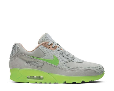 Nike Air Max 90 Premium Pure Platinum / Electric Green - Bio Beige CQ0786-001